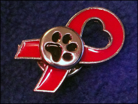 Paw Prints Pin